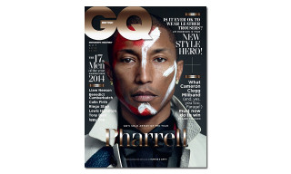 Pharrell Covers 'GQ' Magazine October 2014