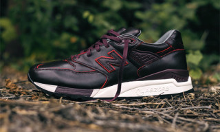 "Horween Leathers x New Balance M998 ""Brown Burgundy"""