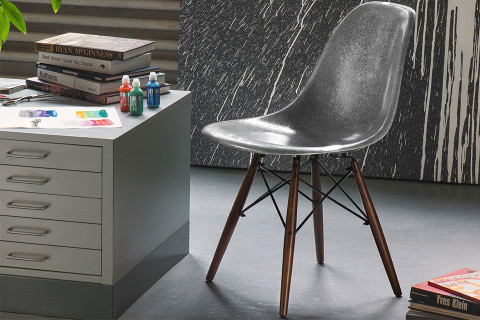Art Supply Company KRINK Teams Up With Contemporary Furniture Company  Modernica For A Unique Take On The Latteru0027s Iconic Fiberglass Side Shell  Chair, ...