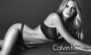 Lara Stone Stars in Steamy Calvin Klein Jeans Campaign