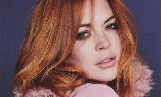 Lindsay Lohan Editorial in 'Wonderland' Magazine
