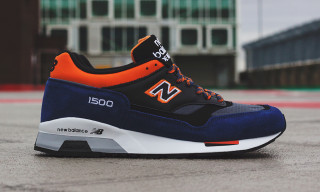 "New Balance Made in England M1500 ""Blue/Black/Orange"""