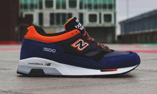 "New Balance Made in England M1500 ""Blue/Black/Orange"""