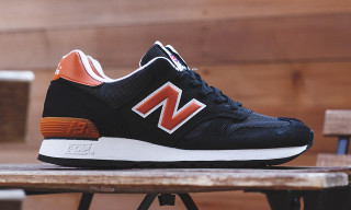 "New Balance Made in England M670 ""Black/Orange"""