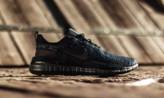 "Nike Free OG ""Black Anthracite"""