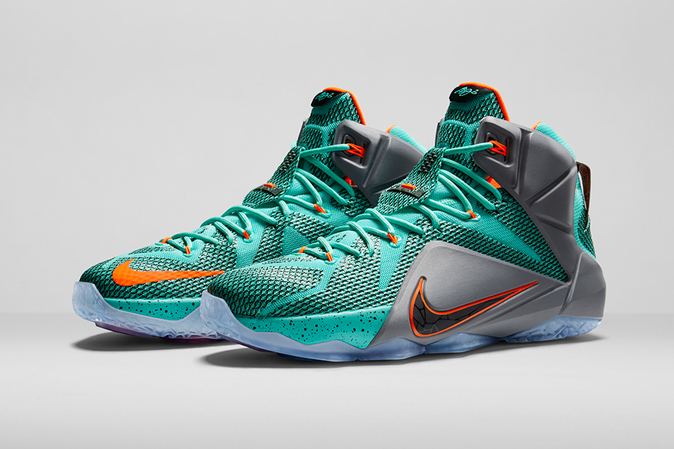 Nike Officially Unveils the LeBron 12