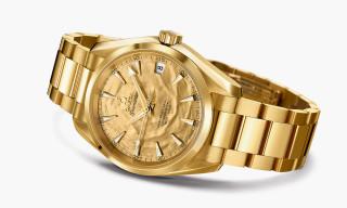 "OMEGA Seamaster Aqua Terra ""Goldfinger"" Watch"