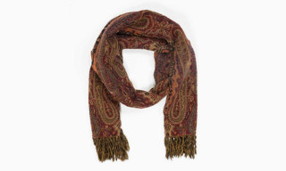 Our Legacy Boiled Paisley Scarves