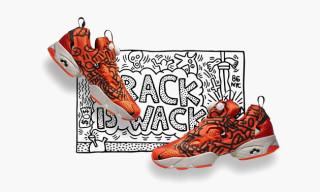 Reebok Classic x Keith Haring Fall/Winter 2014 Pump Sneakers