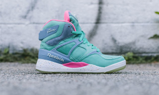 "mita sneakers x Reebok Classic Pump 25th Anniversary ""Electric City"""