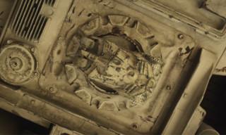 A First Look at the 'Star Wars: Episode VII' Millennium Falcon Reveals Hidden Batman Tribute