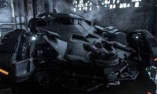 Take a First Look at the New Batmobile from 'Batman v Superman: Dawn of Justice'