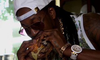 """Watch 2 Chainz Eat a $295 Burger in GQ's """"Most Expensivest Shit"""""""