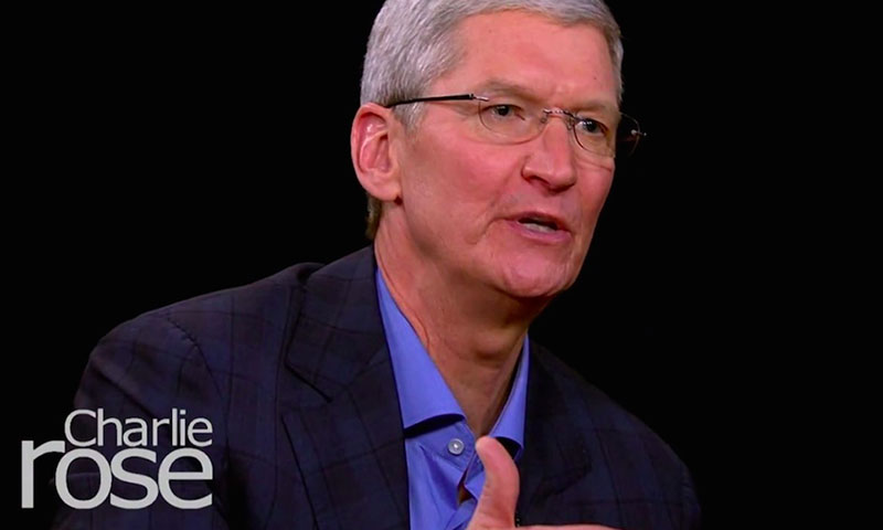 Tim Cook Talks Le Tv Iphone 6 And Ing Beats With Charlie Rose Highsiety