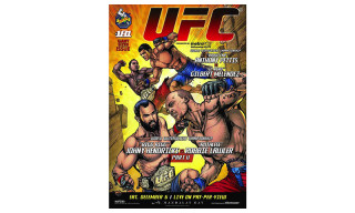 UFC 181 Poster by DC Comics