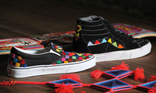 Vans Vault Partners with Huichol Tribe on Unique Handcrafted Sneakers