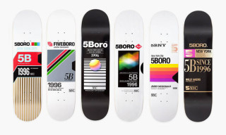 VHS Skateboards by 5Boro