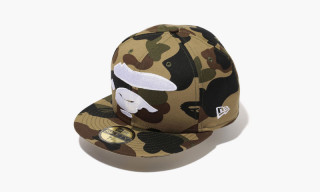 "BAPE x New Era Holiday 2014 ""First Camo"" Caps"