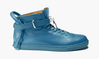 "Buscemi 100mm High-Top ""Blue"""