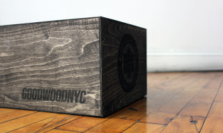 Good Wood Releases Customized Wooden Sneaker Boxes