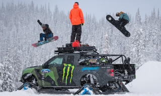 Watch Ken Block's Ford F-150 RaptorTRAX Shredfest with Zak Hale and Ethan Deiss