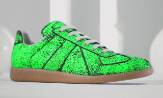 Maison Martin Margiela Releases Limited Edition Fluorescent 'Replica' Sneakers