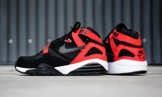 "Nike Air Trainer Max 91 ""Black/University Red"""