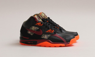 "Nike Air Trainer SC High PRM ""Black/Team Red-Hyper Crimson"""