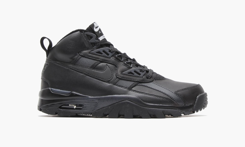 huge discount 260eb 44111 80%OFF Nike Air Trainer SC Sneakerboot BlackBlack Highsnobiety