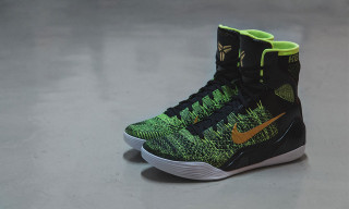 "Nike Kobe 9 Elite ""Black/Metallic Gold/Volt"""