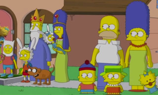 "The Simpsons Reference South Park, LEGO & More in New ""Treehouse of Horror"""