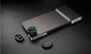 SNAP! 6 iPhone Case features Shutter Button & Interchangeable Lenses