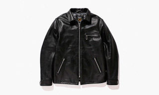 Stussy and Schott NYC Introduce the Classic Leather Truck Jacket