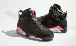 "Air Jordan VI ""Black/Infrared"" Returns Black Friday"