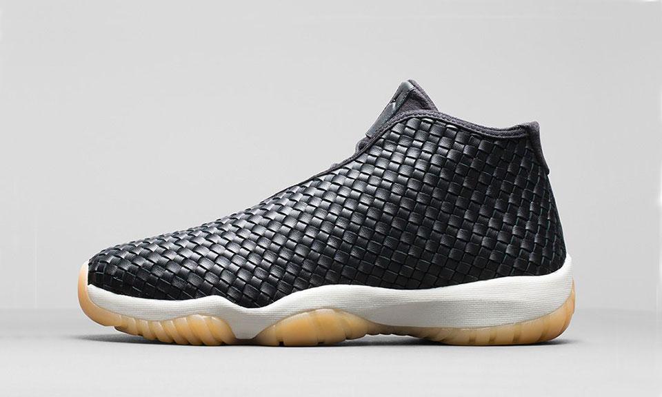 Nike Air Jordan Future Premium Black Leather