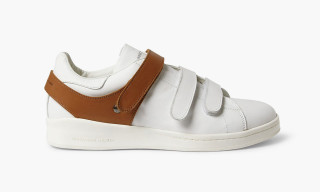 Alexander McQueen Harness-Detailed Leather Sneakers