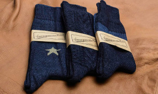 Anonymous Ism Indigo Socks