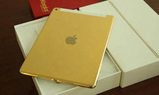 A Closer Look at the 24K Gold-Plated iPad Air 2
