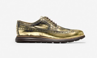 "Cole Haan Original Grand Wingtip ""Gold"""