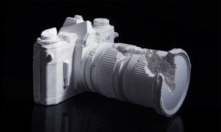 Daniel Arsham Releases Limited Edition 'Camera' Sculpture
