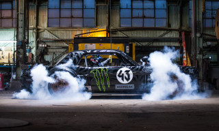 Watch Ken Block Tear Up Los Angeles in a 1965 Ford Mustang