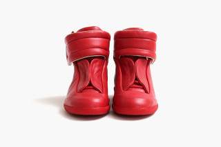 Maison Martin Margiela Red High Top Future  62708e588