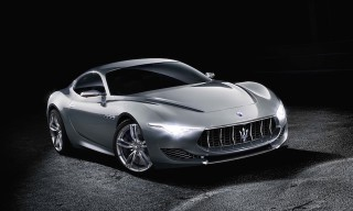 Maserati Looks to the Future with the Alfieri Concept