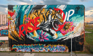 MEGGS 'Rise Up' Mural