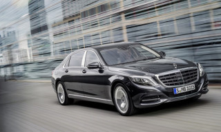 Mercedes-Benz Reveals Luxurious New Maybach S-Class