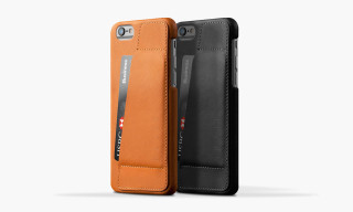 Mujjo Leather Wallet Case 80° for iPhone 6/6 Plus
