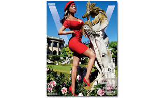 Nicki Minaj Covers 'V' Magazine's Winter 2014 Issue