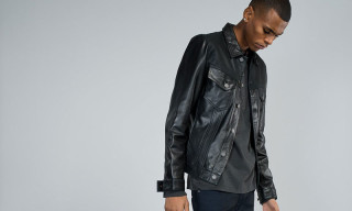 Nudie Jeans Introduce the Perry Leather Jacket