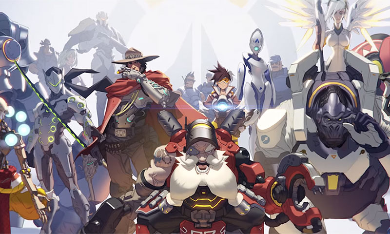Watch The Official Overwatch Cinematic Trailer