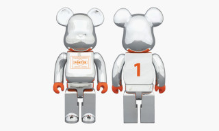 Porter x Medicom Toy Silver-Plated 400% Bearbrick